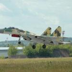 Сверхзвуковой истребитель СУ-35 компании «Сухой» SU-35
